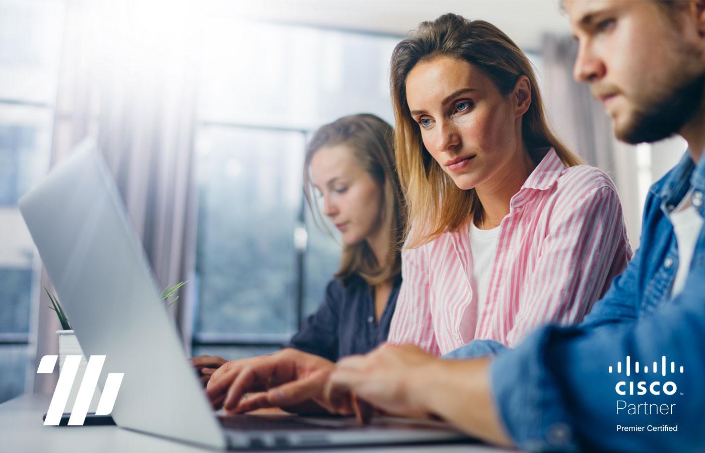 Soluciones de colaboración para empresas con Hybrid Workplace
